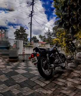 Royal enfield 500 cc with well maintained