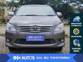 [OLX Autos] Toyota Kijang Innova 2.0 G A/T 2013 Abu-abu