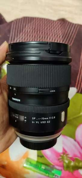 Sell Tamron 24-70mm 2.8f  lens canon mount