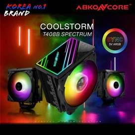 ABKONCORE COOLSTROM T408B RGB SYNC CPU COOLER