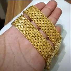 menerima emas dan berlian