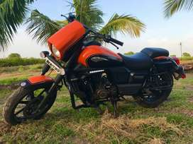 My motorcycle is kind of good. Its engine is also good..