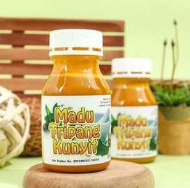 Madu Tripang Kunyit (Obat Herbal Mag Ampuh) 100% Bahan Herbal Alami