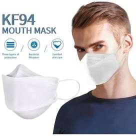 Masker kf94 putih isi 10pcs