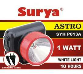 Senter Kepala LED / Head Lamp LED Rechargeable SURYA SYH-P013A
