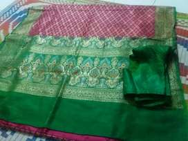 Paithani with huge embroidery for Sale