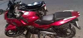 Pulsar 220F Red colour