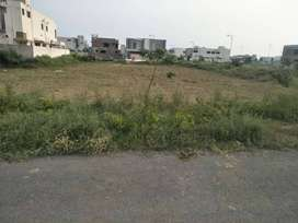 Corner back to main road plot for sale in DHA 9 prism