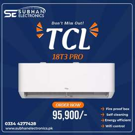 TCL T3 PRO wifi 2021 DC inverter available in stock
