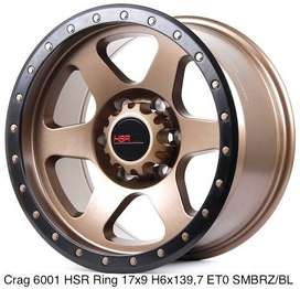 new hsr crag R17 H6x139,7 bronzze ready