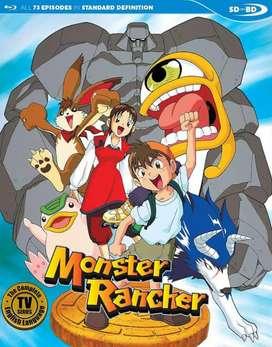 anime monster fatm/monster rancher complete