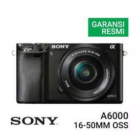 Sony A6000 Kit 16-50mm Promo Free 1x Cicilan