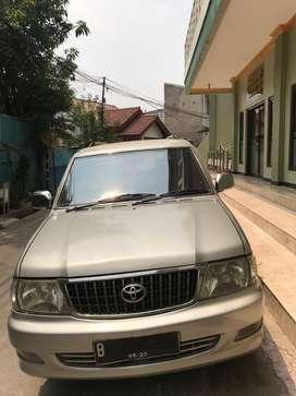 Kijang LGX 2003 1.8EFI silver mulus