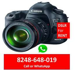 DSLR for RENT in Adyar