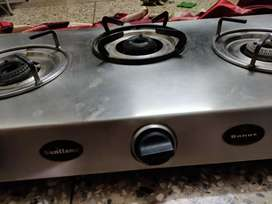 Gas stove 3burner