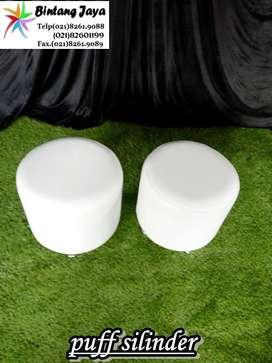 Sewa Kursi Puff single putih