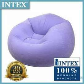 INTEX 68569 inflatable beanless bag pouf seat for kids.
