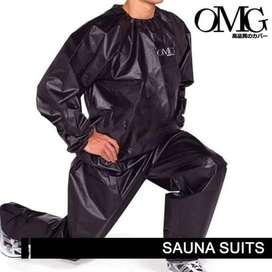 Sweat Track Sauna Suit Fitness