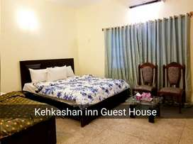 Kehkashan Inn Guest House Room For Rent