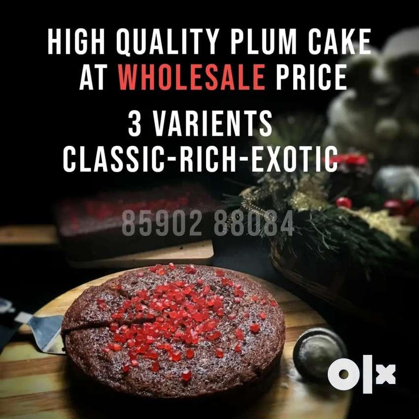 Plum Cake @ Wholesale price 0