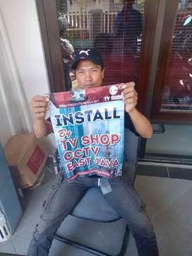 Paket 4 cctv FULL HD murah berkualitas garansi 3th