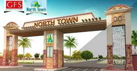 In North Town Residency 120y west open phase 1 plot for sale