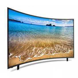"""40"""" curved latest version full updated smart Android led TV"""