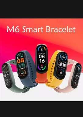 Smart band M6 lengkap fullset 1 bln pakai