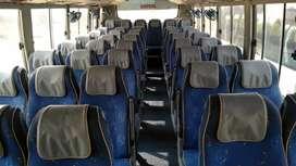CNG AC 3x2 bus