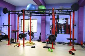 Gym Equipment cross fit station