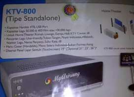 1 set alat karaoke my Arirang KTV - 800, murah dan masih nego !
