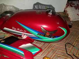 ZYMCO MOTORCYCLE  2018 MODEL WITH DOUBLE PARTS