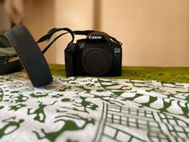 Canon 1300d with kit lens (18-55) (55-250)