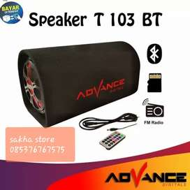 Speaker advance bluetoth karaoke T103 8 INC