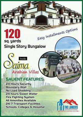 Banglow Is Available For  On Installment  At Saima Arabian villas