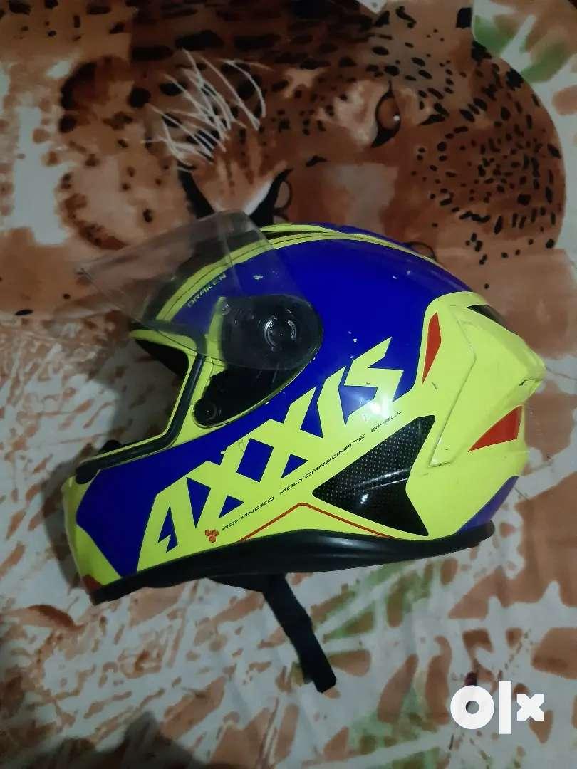 AXXIS Helmet less used 0
