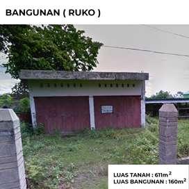JUAL TANAH DAN BANGUNAN(RUKO)