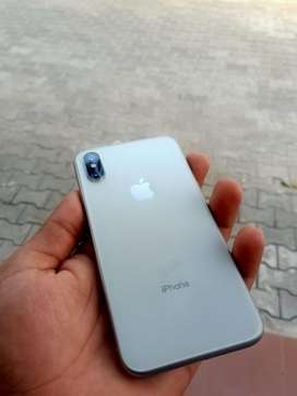 iPhone X 64GB Silver color for SALE