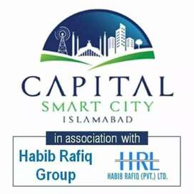 4Marla commercial  Plot in Capital Smart City Islamabad