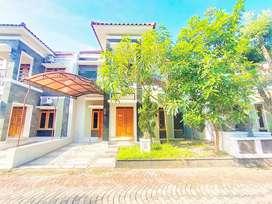 Rumah 2 lantai lingkungan ekslusif dalam perumahan timur bandara
