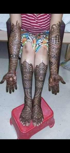 Jamuna mehandi art