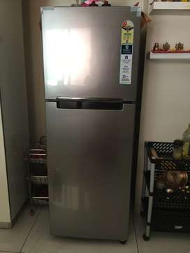 1 year old , almost new Samsung refrigerator for sale at pimple Nilakh
