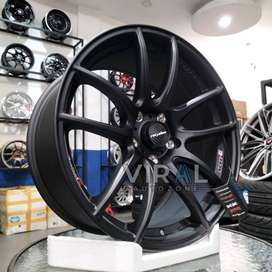 Velg Lenso Ring 18 Lobang 5 Pelak Mobil CRV Innova Rush R18 Original