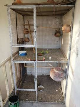 Iron cage for sale