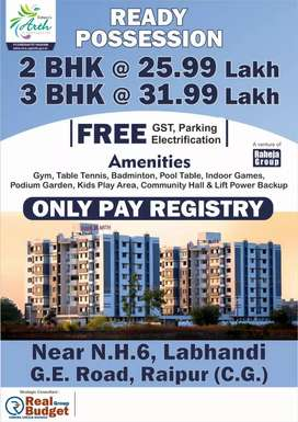 2bhk flat with full luxurious  amenities.