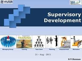 Hiring in supervisor