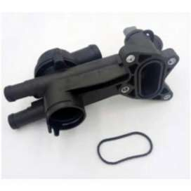 03C121111B Thermostat Elbow Skoda Fabia,Vw Polo / Vento New Model 2330