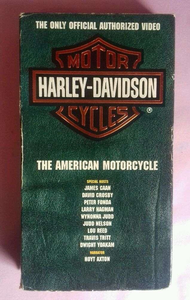 Harley-Davidson The American Motorcycle Film VHS