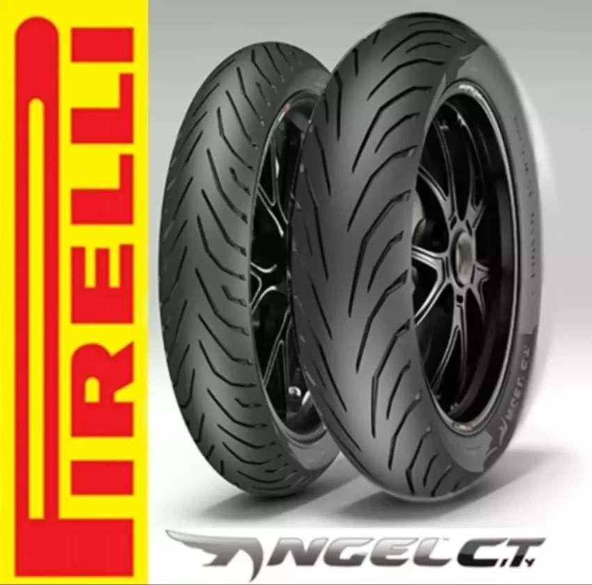Ban pirelli angle city ukuran 150/60 ring 17 ninja 250 r25 cbr250rr 0