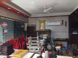 Semi Furnished Commercial space available for Restaurant Space.